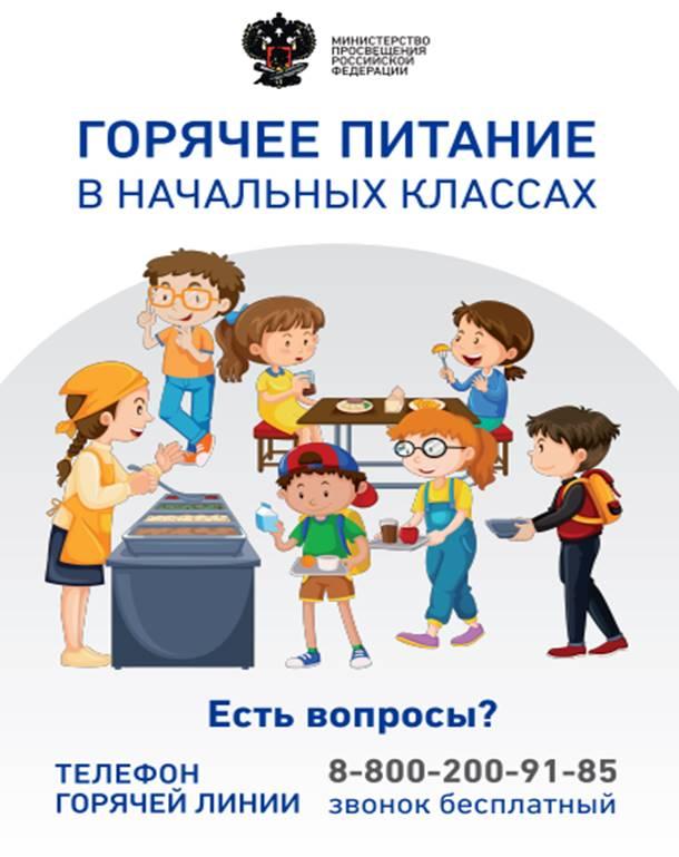 Горячее питание для школьников — ГБОУ гимназия города Сызрани